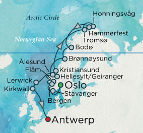 Crystal Cruises - North Cape Discovery