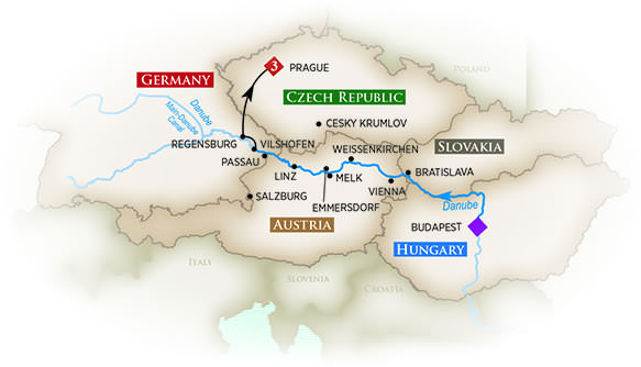 AmaWaterways - Melodies of the Danube
