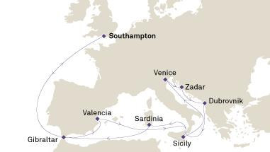 Cunard - Venice and the Adriatic