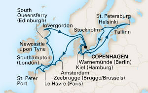 Holland America Line - 24-Day Baltic Adventure & Stonehenge Solstice