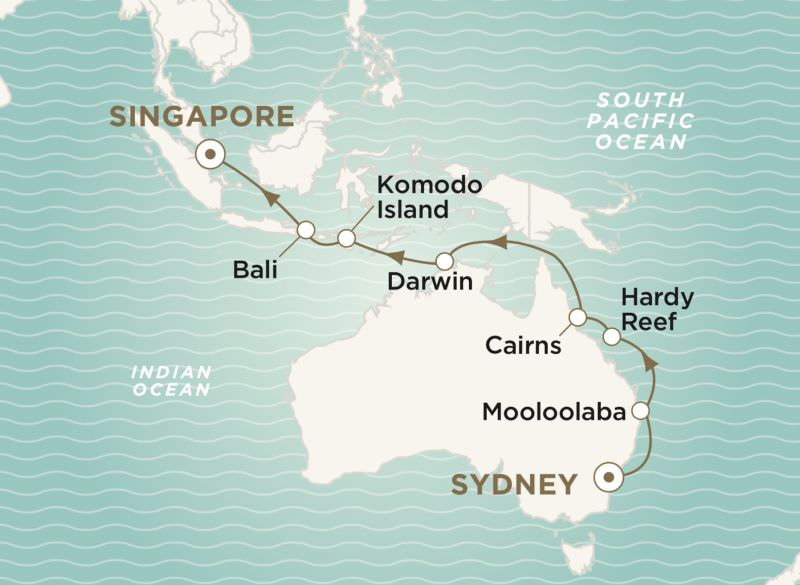 Crystal Cruises - The Great Barrier Reef & Beyond