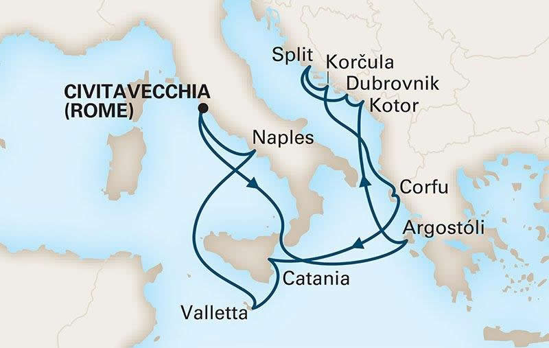 Holland America Line - Mediterranean Legends