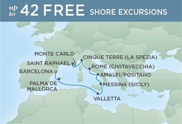 Regent Seven Seas Cruises - Flamenco Flourish