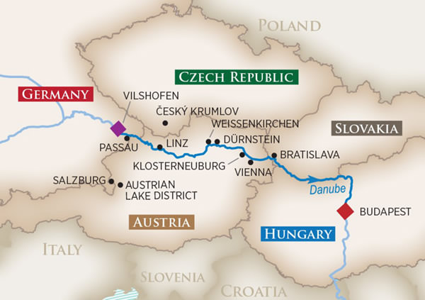 AmaWaterways - Romantic Danube