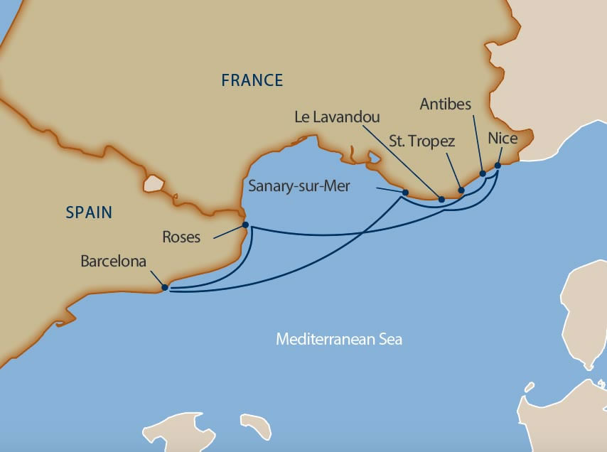 Windstar - Charms of French & Spanish Rivieras
