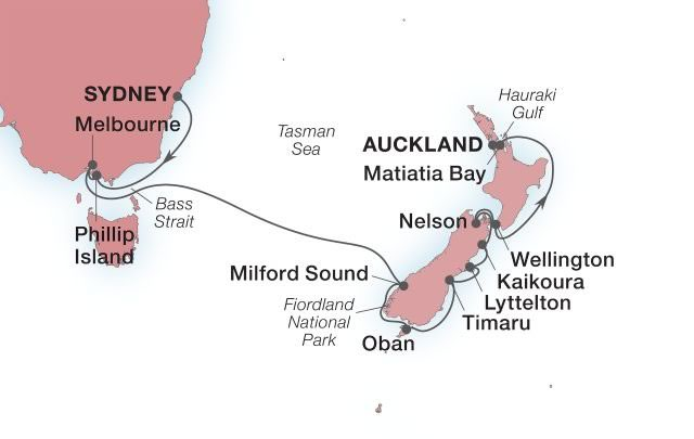 Seabourn - Australia & New Zealand