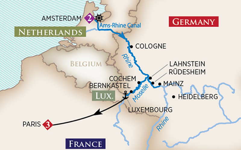 AmaWaterways - Vineyards of the Rhine & Moselle